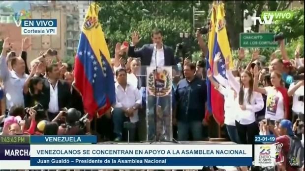 [TLMD - MIA] Guaido juramenta como presidente interino de Venezuela