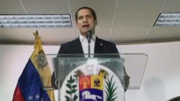 [TLMD - MIA] Juan Guaidó promete sanciones contra corruptos