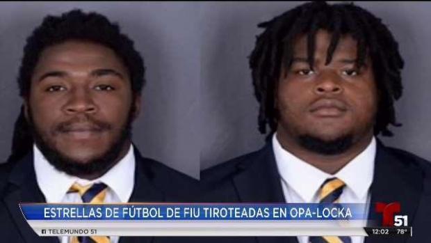 [TLMD - MIA] Hablan familiares de jugadores de futbol de FIU que fueron baleados
