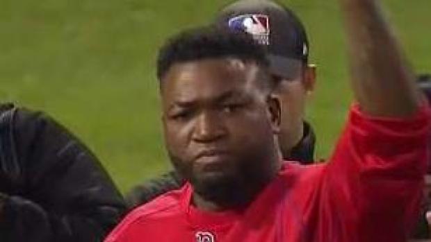 """Hieren de un balazo a """"Big Papi"""" Ortiz"""
