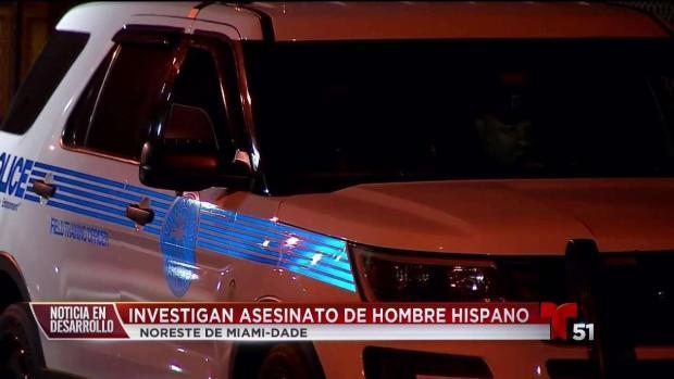 [TLMD - MIA] Hombre hispano asesinado en en el NE de Miami Dade