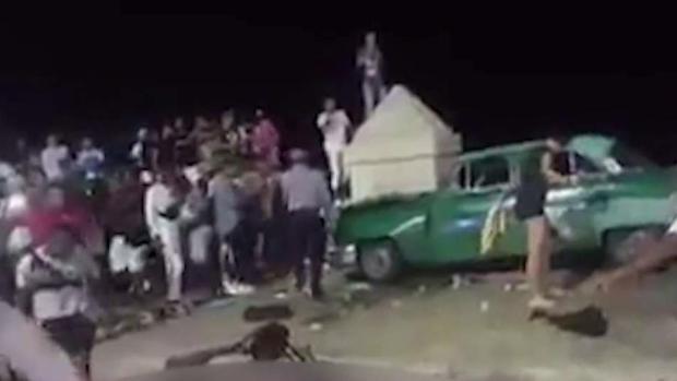 Nuevos detalles del fatal accidente en el malecón de La Habana
