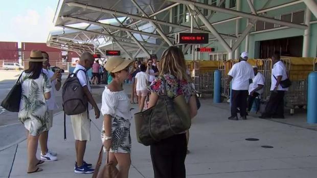 [TLMD - MIA] Pasajeros molestos por cambio de itinerario en cruceros que salían de Miami a Cuba