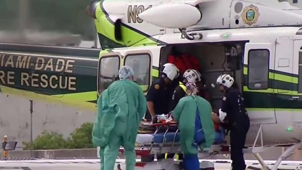 [TLMD - MIA] Joven hispano es herido con la propela de un bote