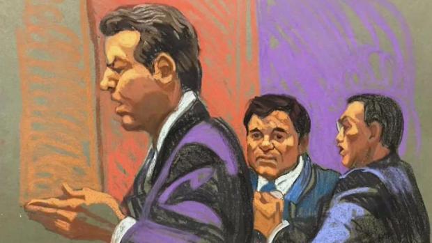 """[TLMD - NY] Jurado """"huye"""" en inicio del juicio de """"El Chapo"""""""