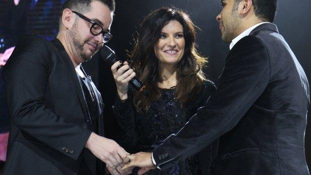 "Laura Pausini ""casa"" a pareja gay en México"