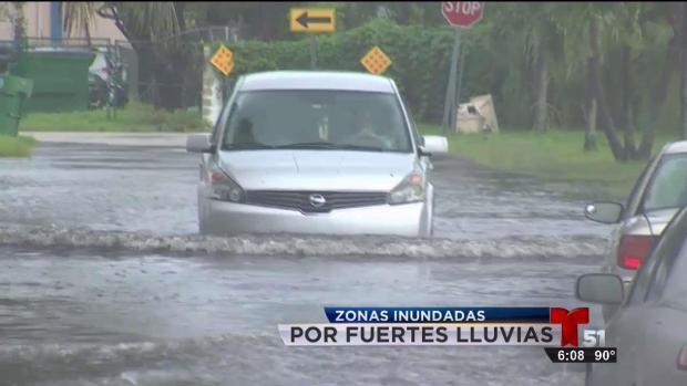 [TLMD - MIA] Lluvias ponen a prueba sistemas de drenaje en Miami-Dade