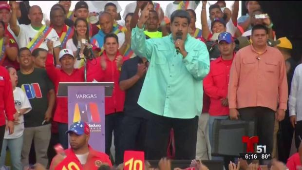 [TLMD - MIA] Maduro anuncia se alzará en armas si pierde elecciones