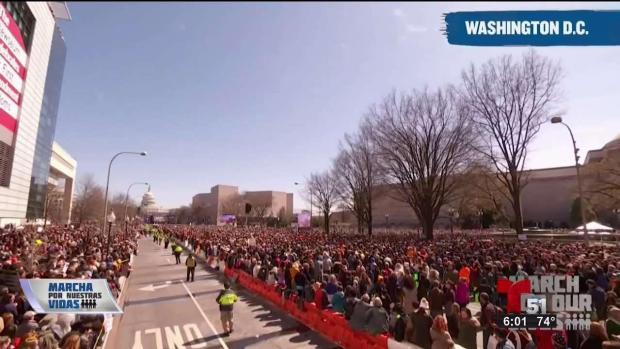 [TLMD - MIA] Más de 800 mil participantes en Marcha por nuestras vidas