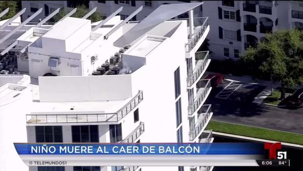 [TLMD - MIA] Niño muere al caer de balcón