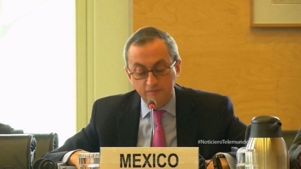 Vídeo: ONU cuestiona a México por desaparecidos