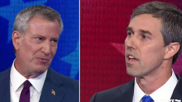 O'Rourke y De Blasio chocan por planes de salud