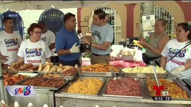 [TLMD - MIA] Ofertas culinarias del Carnaval Calle