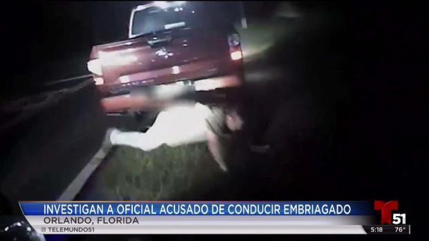 [TLMD - MIA] Oficial de policia de Orlando conducia ebrio
