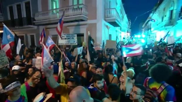 [TLMD - MIA] Puerto Rico vive intensas protestas