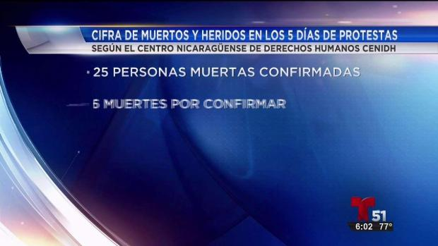 [TLMD - MIA] Periodista muerto en Nicaragua en protestas