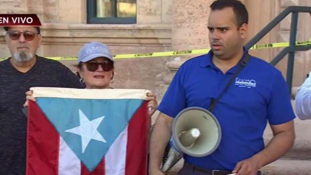 [TLMD - MIA] Protesta de boricuas en Miami