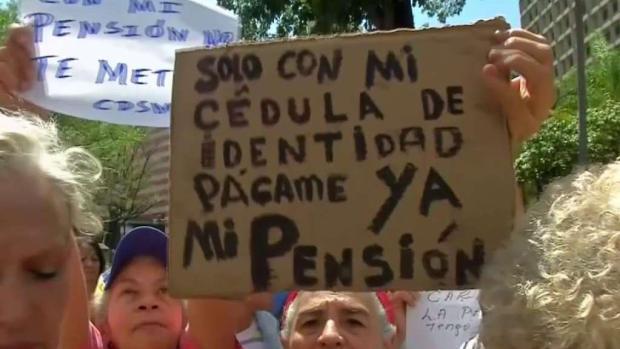 [TLMD - MIA] Protesta de pensionados en Venezuela