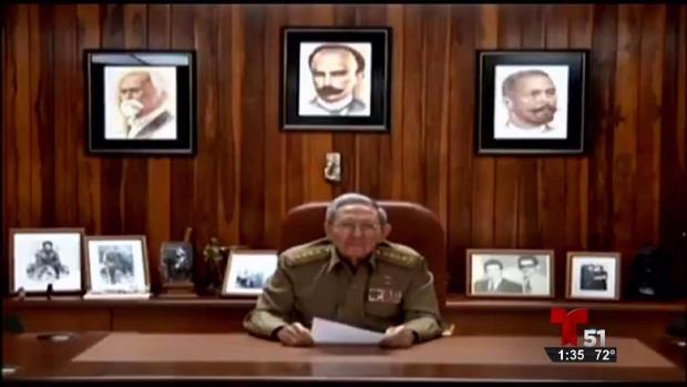 Raúl anuncia la muerte de su hermano Fidel Castro