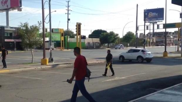 Reportan balacera en concurrida calle de Juárez