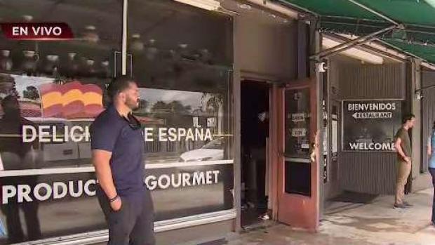 [TLMD - MIA] Restaurante Delicias de España arrasado por incendio