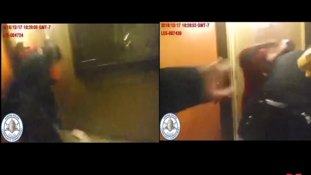 [TLMD - Denver] Revelan imágenes de brutal pelea entre la policía y un veterano que murió en este altercado an Aurora