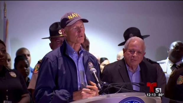 [TLMD - MIA] Rick Scott firmó ley para generadores electricos en centros de ancianos