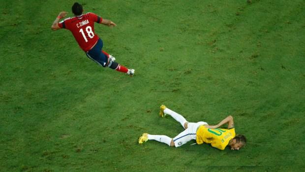 [TLMD - NATL] El rodillazo de Zúñiga a Neymar y el fin de un sueño
