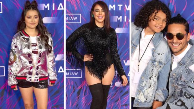 """Rubí, Danna Paola y Maluma: """"millenials"""" en premios de MTV"""