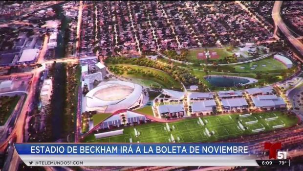 [TLMD - MIA] Se aprueba llevar a votación de la comunidad el estadio de Beckham