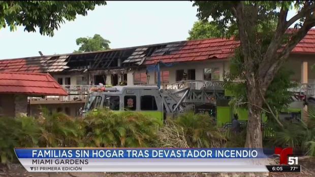 [TLMD - MIA] Sin techo decenas de familias por devastador incendio