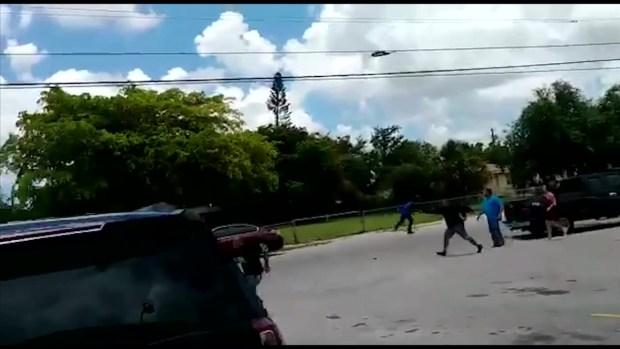 [TLMD - MIA] En video: Momento en que influencer dominicano es asesinado en Miami