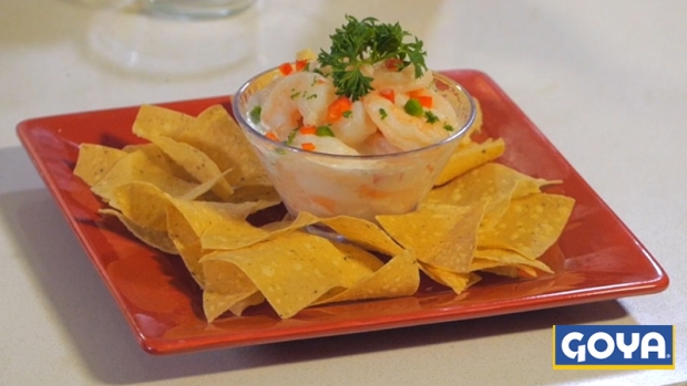 Video: Ceviche de Camarones con Coco