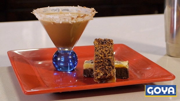 Video: Martini de Coco y Chocolate