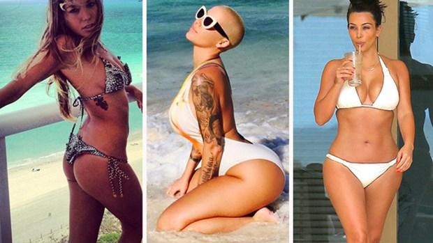 Las mejores fotos en bikini de las famosas