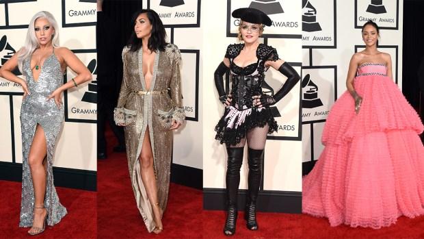 Grammy 2015, las peor y mejor vestidas