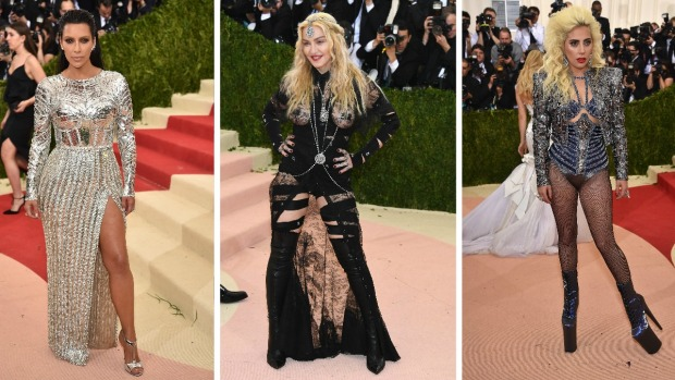 Kardashian, Madonna y Lady Gaga se apoderan de Met Gala