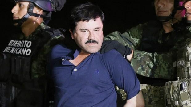 """México y EEUU se pelearían la fortuna de """"El Chapo"""""""