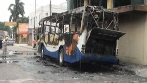 Vídeo: Aterrados los residentes de Tamaulipas