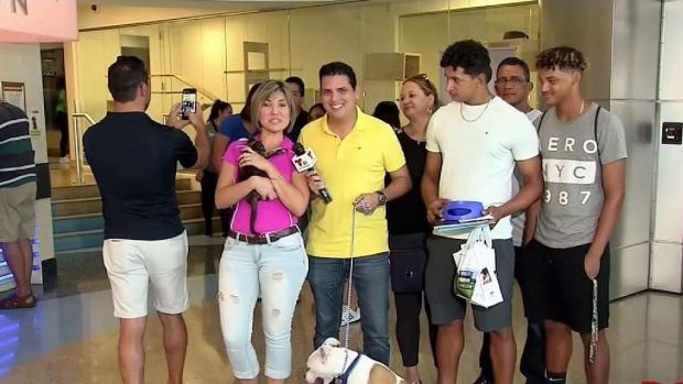 [TLMD - MIA] Telemundo 51 adoptando perros y gatos en el Sur de la Florida