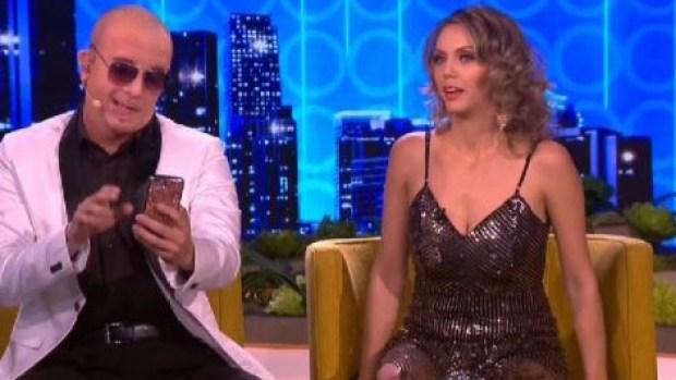 Imitador de Pitbull le pide matrimonio a Jessica Carrillo