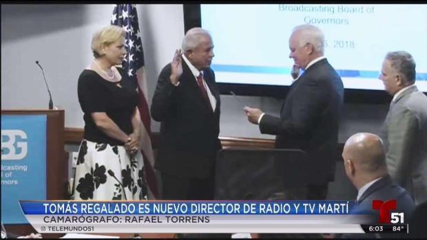 [TLMD - MIA] Tomás Regalado director de Radio y Tv Martí