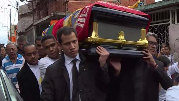 [TLMD - MIA] Ultimo adiós a dirigente venezolano asesinado