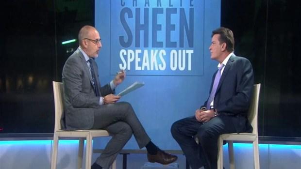 [TLMD - NATL] Charlie Sheen no sabe como contrajo el VIH