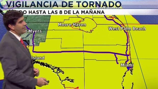 [TLMD - MIA] Vigilancia de tornados para el sur de Florida