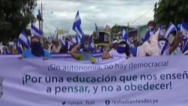 [TLMD - MIA] Violentas porotestas este fin de semana en Nicaragua