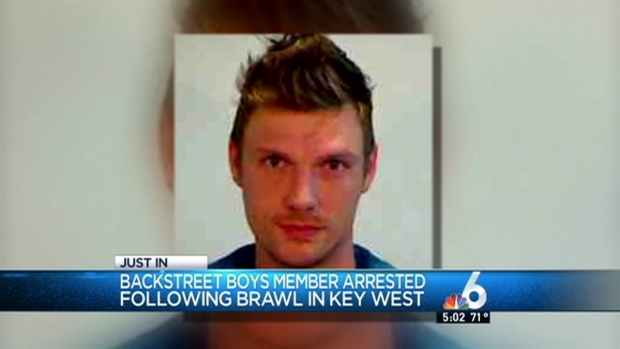 [MI] Video of Nick Carter's Arrest in Key West Released