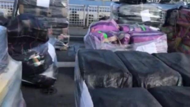 [TLMD - MIA] 10 toneladas de cocaína incautada llegan a Port Everglades