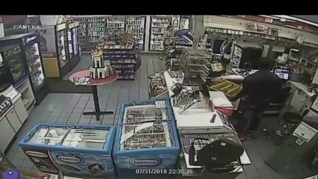[MI] Video muestra el robo a una gasolinera en Fort Lauderdale