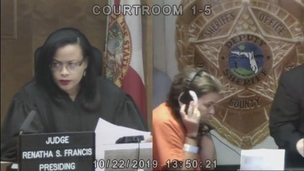 [TLMD MIA] María Román-Strick comparece en corte en Miami